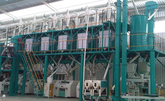 100t maize mill