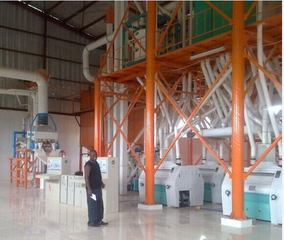 150T maize mill in Zambia