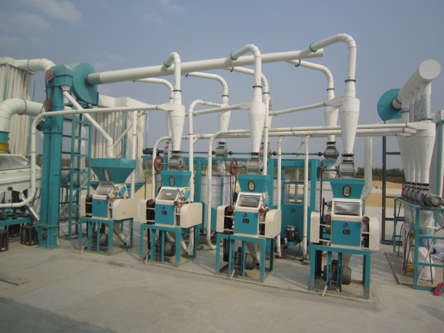 maize mill machine