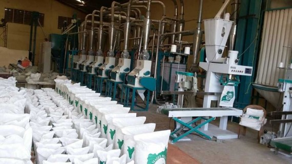 maize mill in Africa