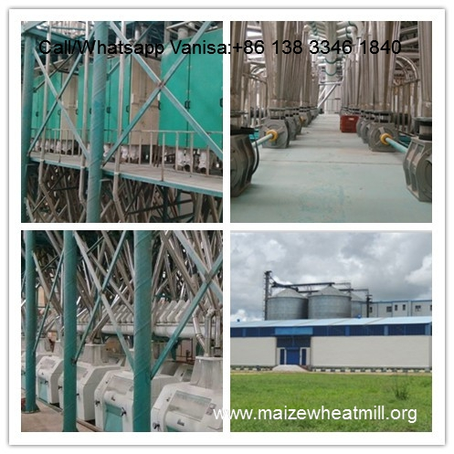 Sites from our 200tonne/24hr maize milling machines installed in Brazil and in Egypt.