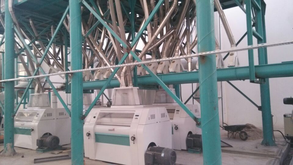 150t maize mill