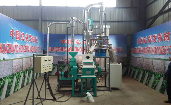 5TPD corn mill line