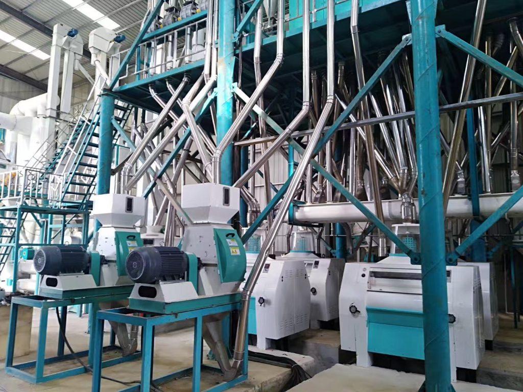 240t maize mill