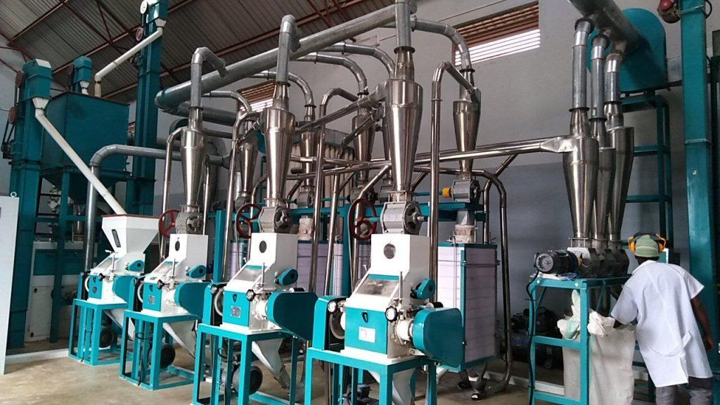 20T/24H maize mill in Arusha Tanzania