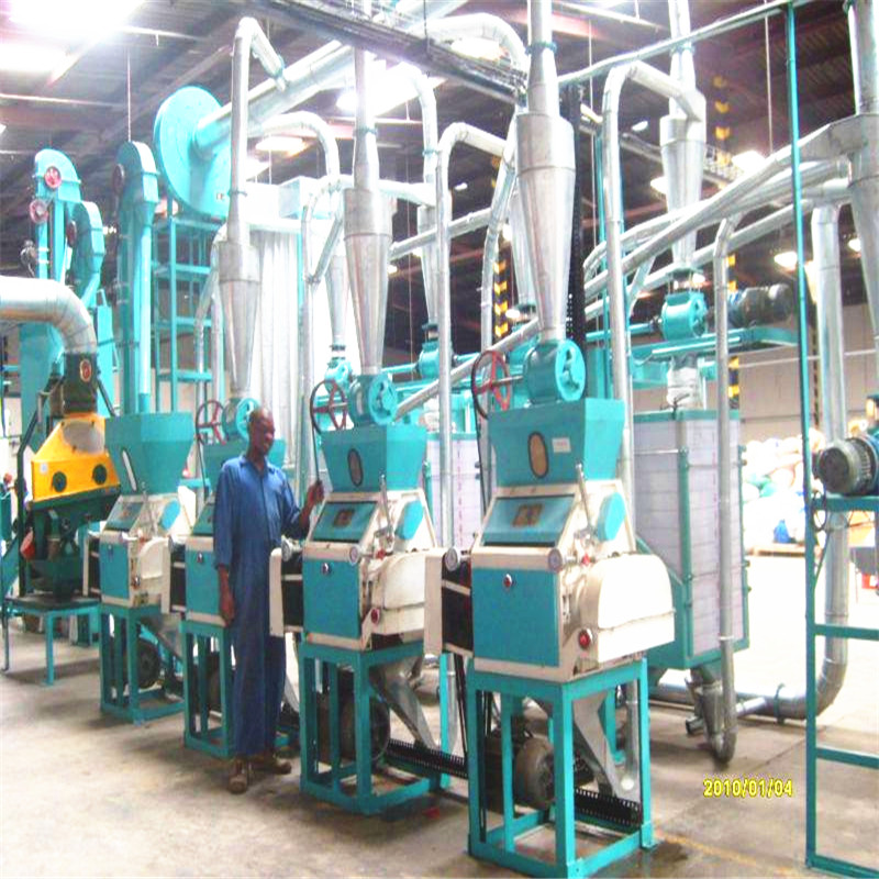 30 T per 24h pop maize mill machine 4