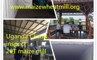 20t maize mill for Uganda