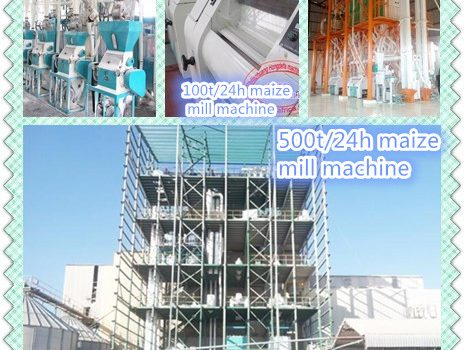high quality of maize mill machine running in Ethiopian