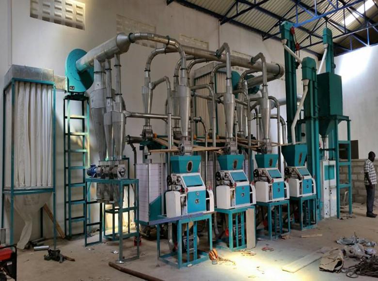 30T instalación de molienda/molino de maíz