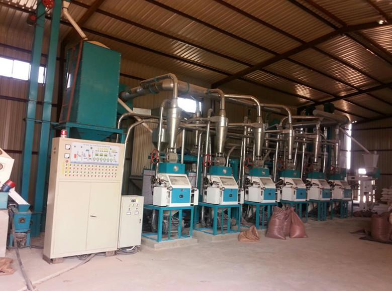 50t sección de molienda/molino de maíz