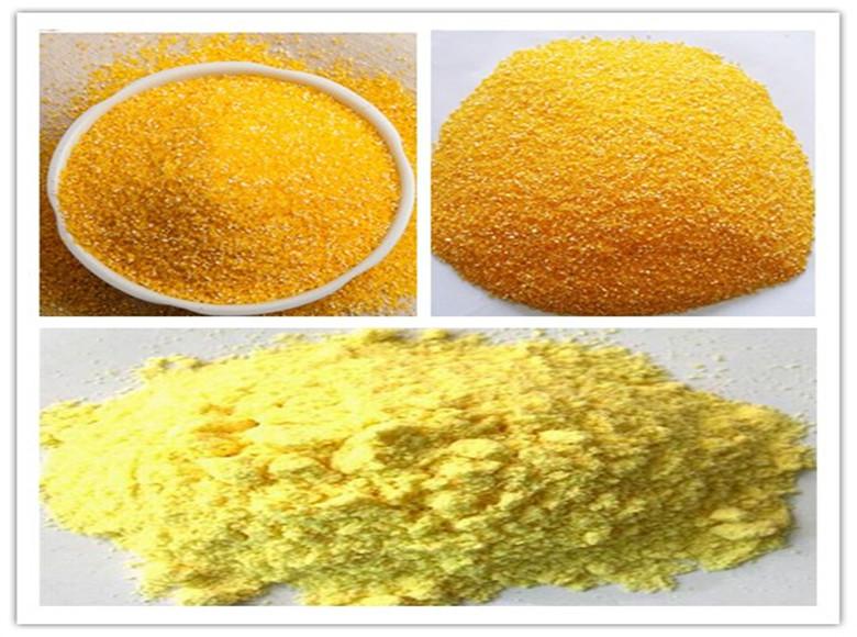 Productos de molienda de Maíz Amarillo
