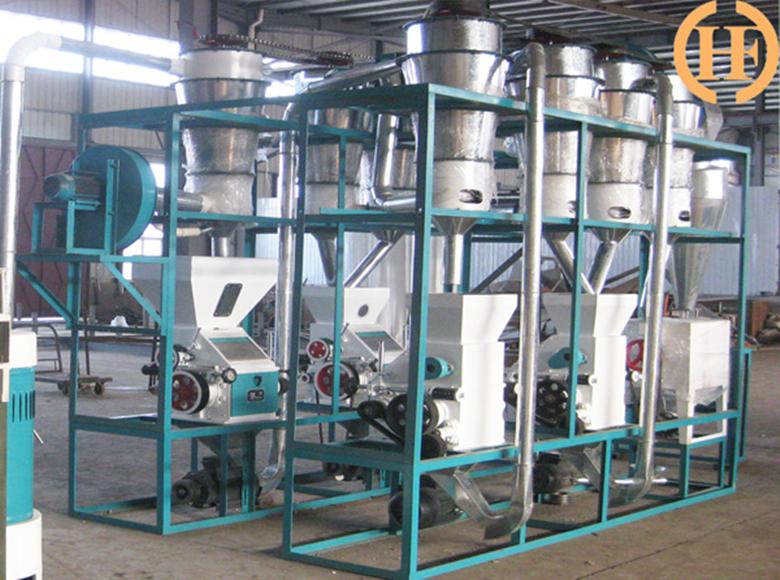 Máquina de harina de trigo 10tonne / 24hr