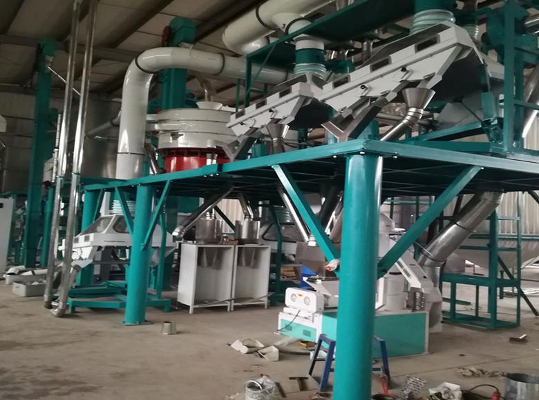 Máquina de molino de trigo 200tonne / 24hr