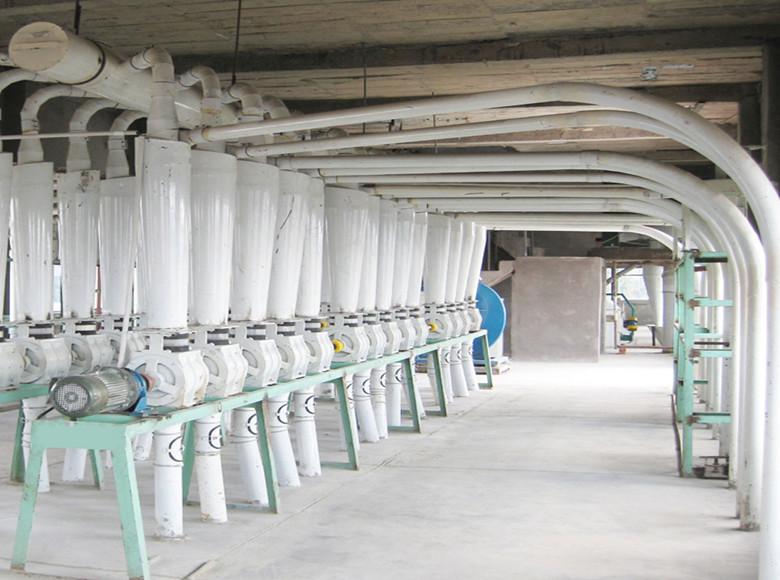 Máquinas de molino de trigo 300tonne / 24hr.