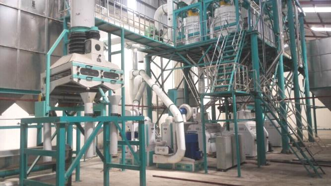 100t corn flour mill machine