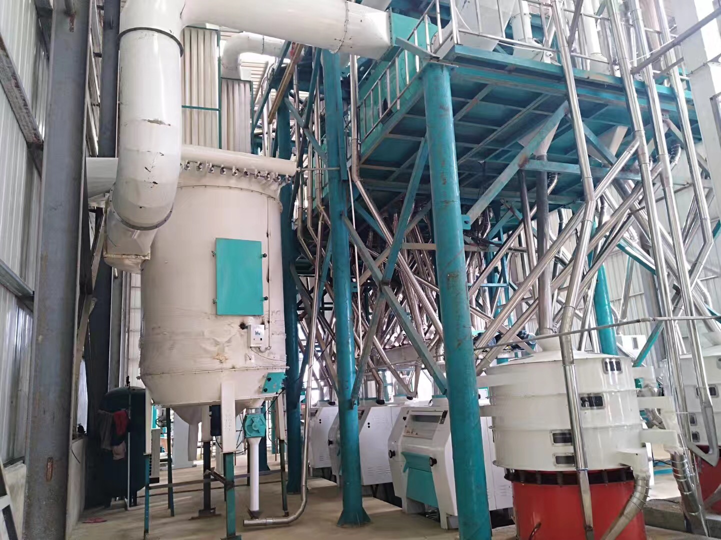 240T maize mill plant in Angola (2)