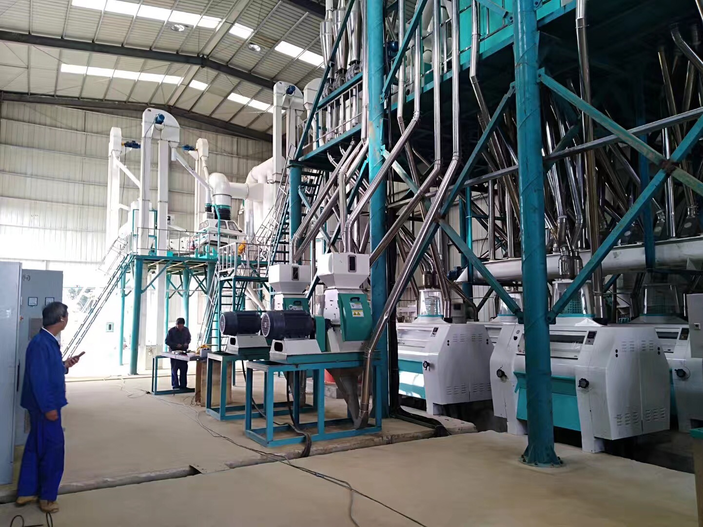 240T maize mill plant in Angola