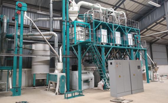 1.Hongdefa maize milling plant