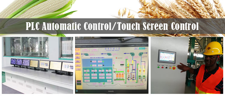 10. PLC touch screen control system