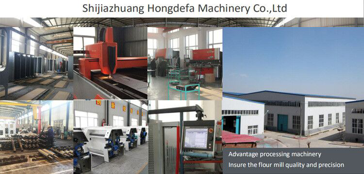 The factory of Shijiazhuang Hongdefa Machinery
