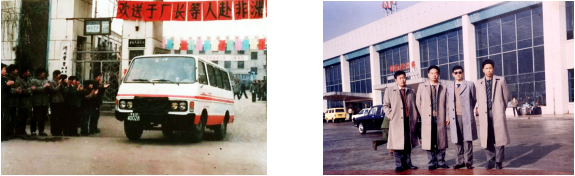 the whole factory enthusiastically sent technicians to go abroad (The right one is Mr.Guo)